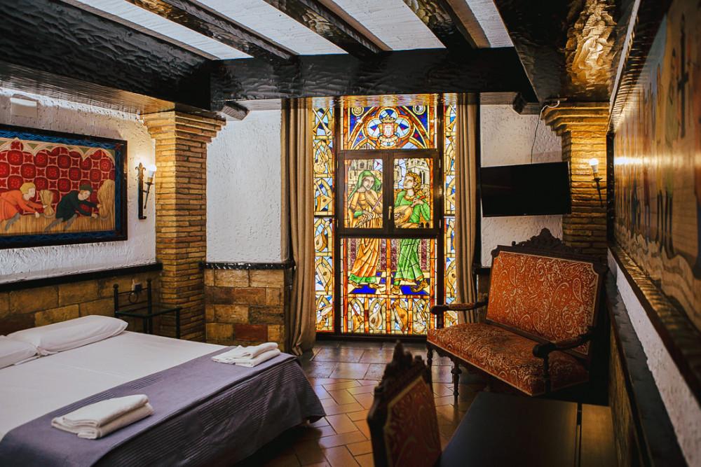 Alojamiento Olite, habitación medieval