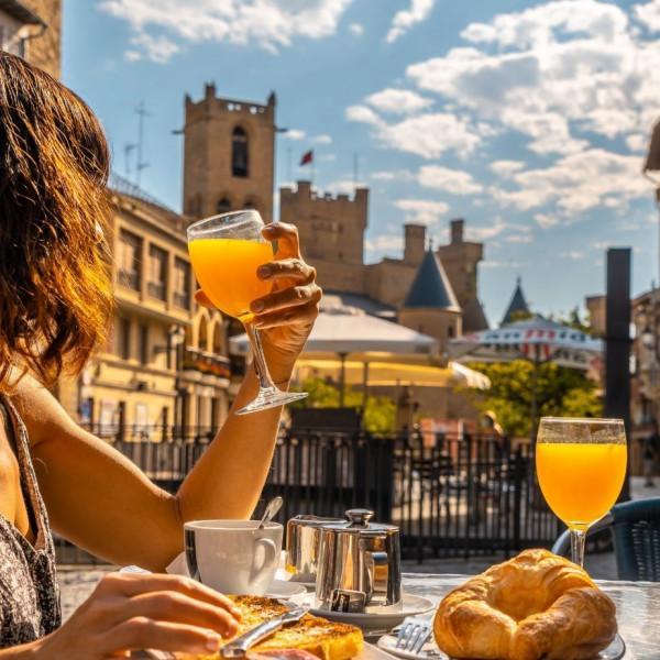Desayunos en Olite