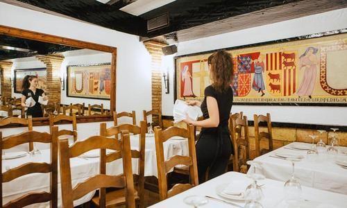 Galería de fotos Restaurante medieval en Olite