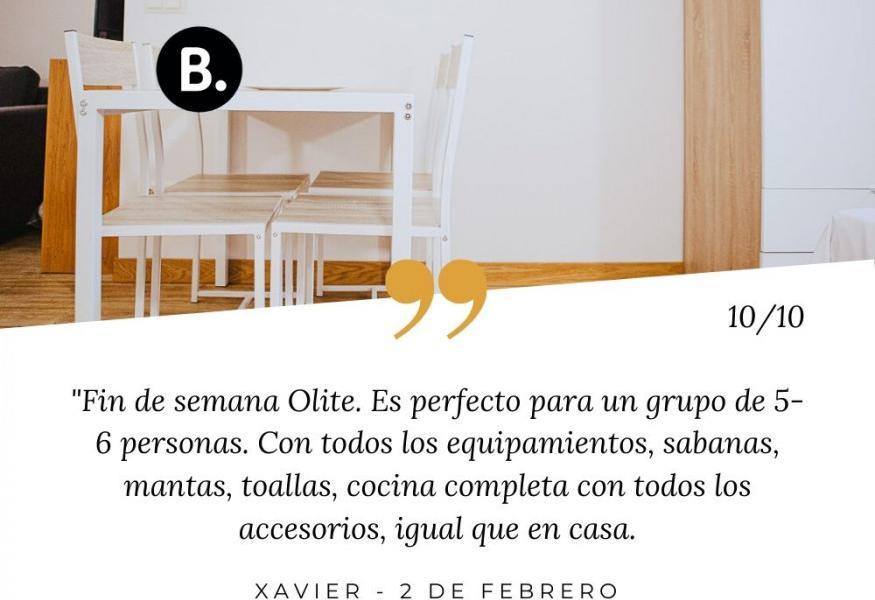 Opinión apartamentos Olite