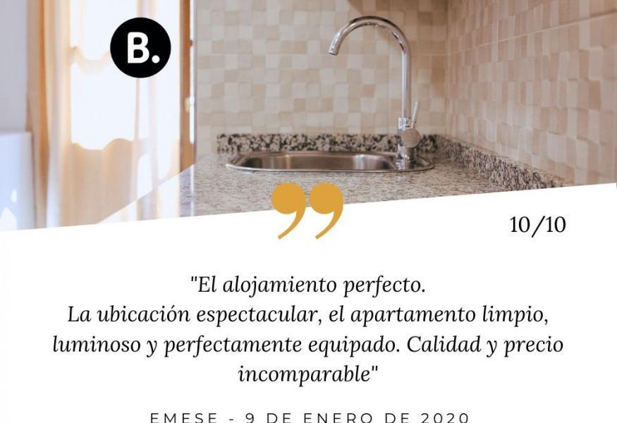 Opinión apartamento Ducay Olite