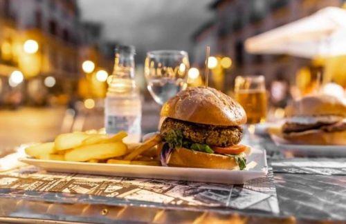 GALERIA DE FOTOS Hamburguesa vegana en olite