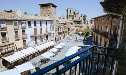 GALERÍA DE FOTOS Vistas desde Suite Hotel Ducay Olite