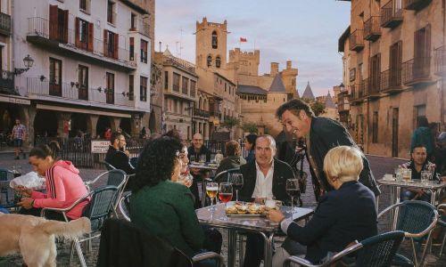 GALERÍA DE FOTOS Terraza con vistas al Castillo Olite